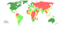 Democracy Index Map (This is the Dream)