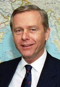 Pete Wilson meeting with Les Aspin, Feb 3, 1993 - cropped to Wilson