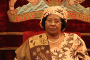 Leading the way - President of Malawi Joyce Banda, a mother and a women's rights champion