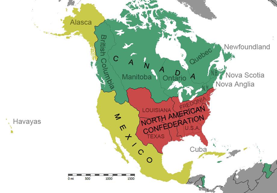 Image Mexico Grande North America Mappng Alternative - North america map mexico