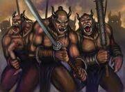 Croaks army