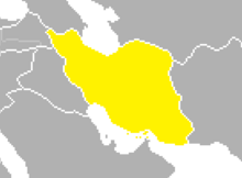 Location of Iran (SM 3rd Power)