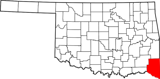 File:File-Map of Oklahoma highlighting McCurtain County.png