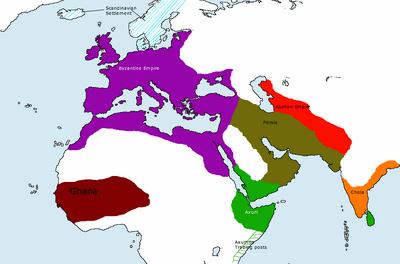Western Empires 800 AD