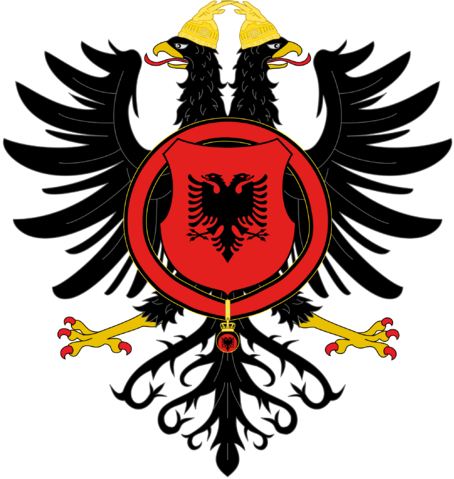 File:Royal Coat of Arms of Albania by eric4e.png