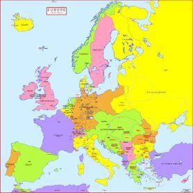 1913 Europe