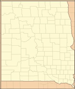 Dakota county map (Alternity)