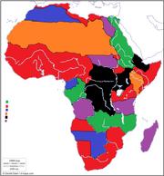 Map 1680 - Africa