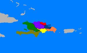 Map of Quisqueyanos (The Kalmar Union)