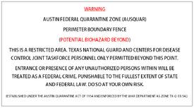 AUSQUAR boundary warning