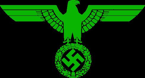 File:Green Nazi Eagle.png
