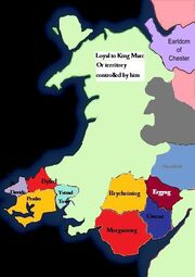 Wales loyal to Marc 1599
