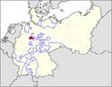 CV Map of Lippe 1918-1934