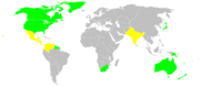 Allies map