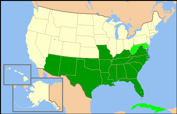File:Confederate States of America (16 states) map.png