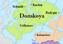 Map of Donskoya