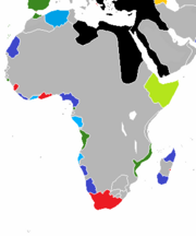 French Africa Map (Fractured America)