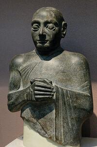Statue gudea bm wa122910