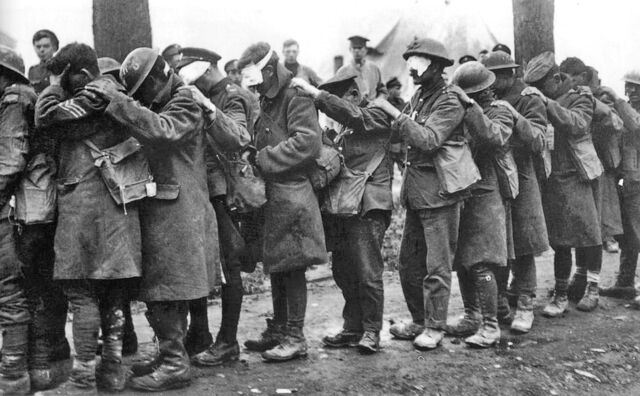 File:British 55th Division gas casualties 10 April 1918.jpg