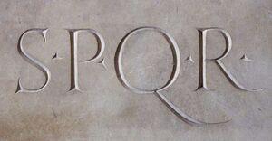 SPQR Stone