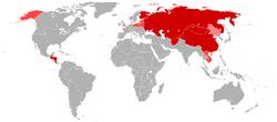 Communist states (No Napoleon)