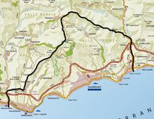 Map of Seborga 1983 DD