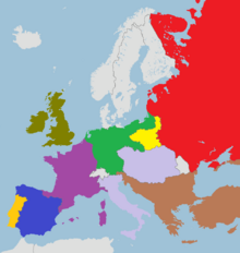 Europe in 1842 (Louisiana Revolution)