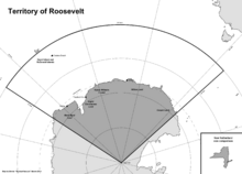 Map of the New Netherlander Antarctic Territory (13 Fallen Stars)