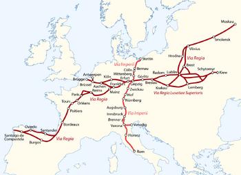 Via Imperii und Via Regia