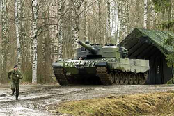 Finnish army tank (Finland Superpower)