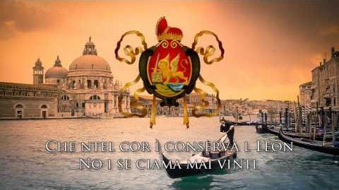 "National Anthem of the Venetian Republic ""Inno Nasionale Veneto"""