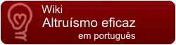 Wikia Altruísmo Eficaz