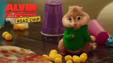 """Alvin and the Chipmunks The Road Chip """"Pizza Toots"""" Lyric Video HD 20th Century FOX"""
