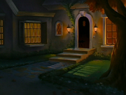 Exterior of Miller House in Wolfman