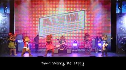 Don't Worry, Be Happy - The Chipmunks & The Chipettes