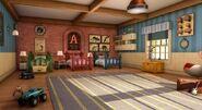The Chipmunks' Room in CGI Series
