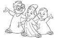 The Classic Chipmunks pose colouring page.png