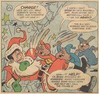 First Christmas Scene Illustration