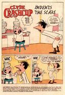 Clyde Crashcup Dell Comic 3 - Invents the Scare