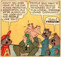 Alvin's Pet Scene Illustration