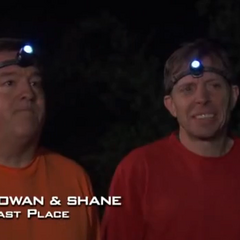 Rowan & Shane were eliminated from the race in 10th place.