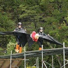 Brent &amp; Caite doing the <i>Condor Consternation</i> <a href=