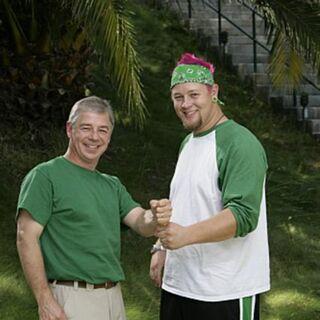 An Alternate promotional photo of Gary &amp; Matt for <i>The Amazing Race</i>.