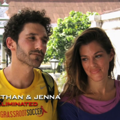 Ethan & Jenna were eliminated from the race in 10th place on a double-elimination leg.