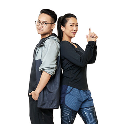 An alternate promotional photo of Rachel &amp; Vicky for <i>The Amazing Race Asia</i>.