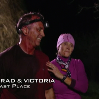 Brad & Victoria were eliminated from the race in 9th place.