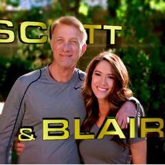 Scott & Blair's opening credit.