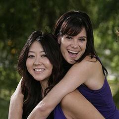 An alternate photo of Maria &amp; Tiffany for <i>The Amazing Race 15</i>.