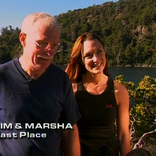 Jim & Marsha were eliminated from the race in 9th place.