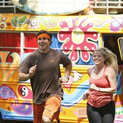 Trey &amp; Lexi running to the <a href=